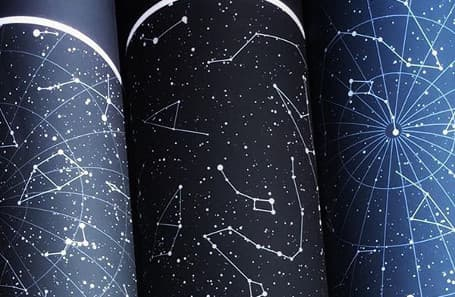 personalised star map prints the night sky posters and city maps