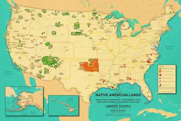 A Modern Map of Native American Lands