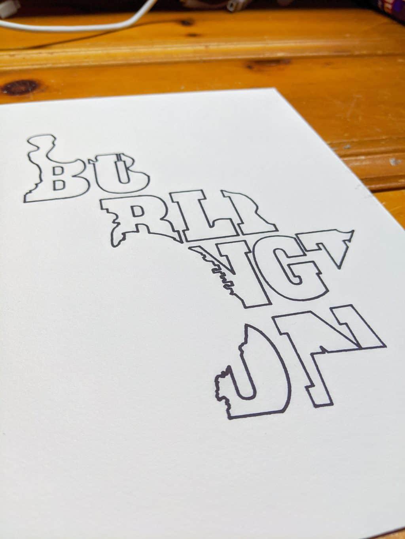 Pen Plotter Work