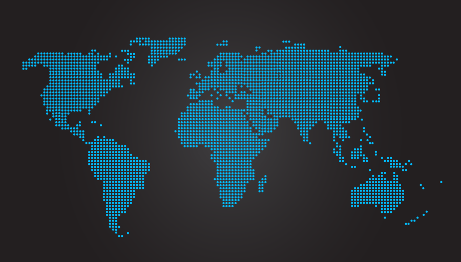 World Map Dotted Black     Mapsof net Click on the World Map Dotted Black