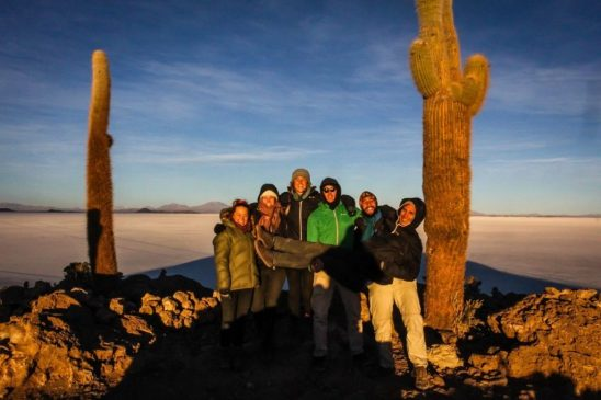 bolivia salt flat incahuasi