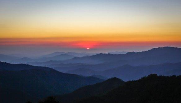 san jose del pacifico sunset