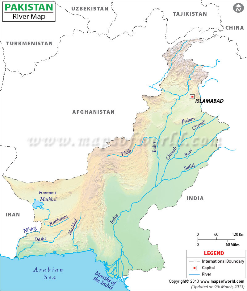 Modi Threatens To Cut Indus Flow Into Pakistan ThereAreNoSunglasses - World map indus river