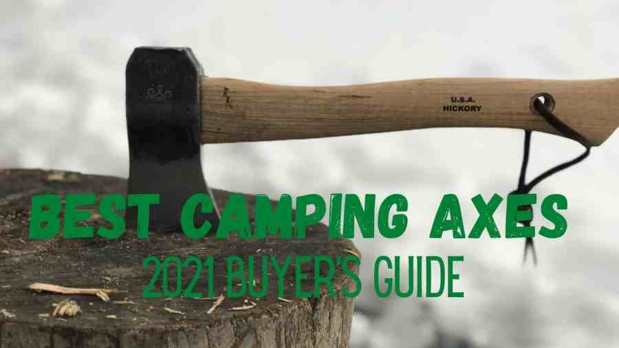 Prandi-hatchet-axe-displayed-on-stump-as-best-camping-axe