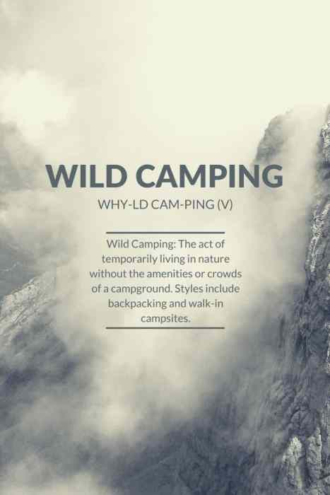 Wild-Camping-Definition
