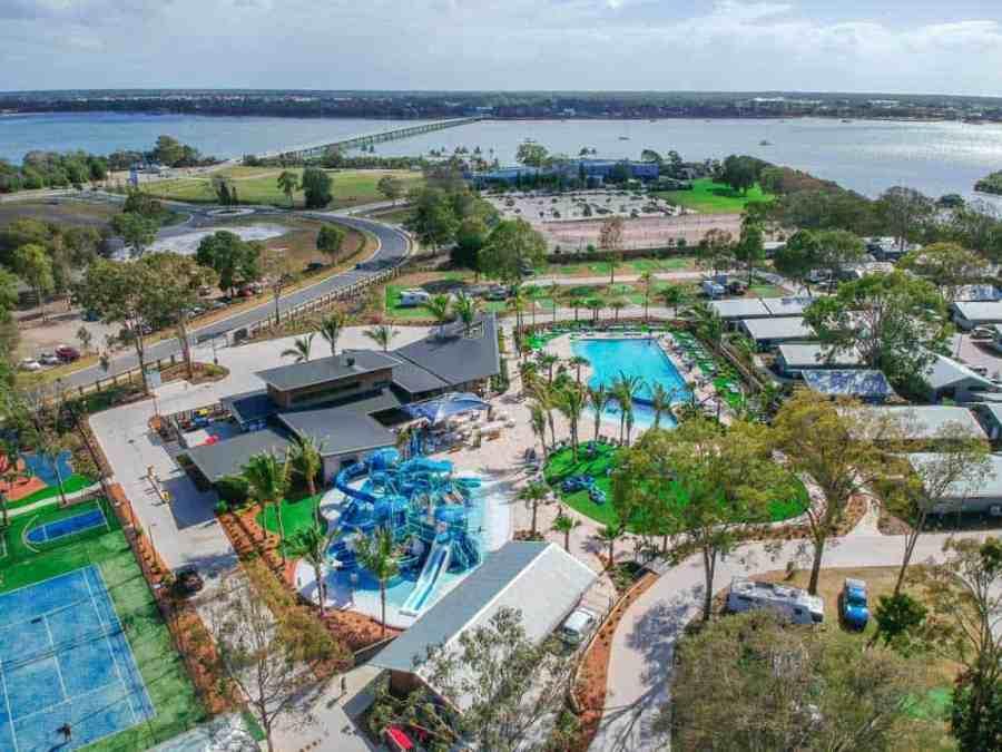 Sandstone Point Caravan Park, Brisbane, Australia, Chris Fry, The Aquarius Traveller, The Best Camping in Oceania