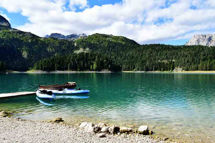 black-lake-Monetnegro-Cotilde-Traveling-With-The-Twins best hiking in Europe