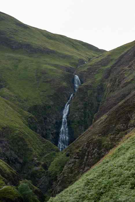 Southern Scotland Trail leads to Grey Mare's Tail