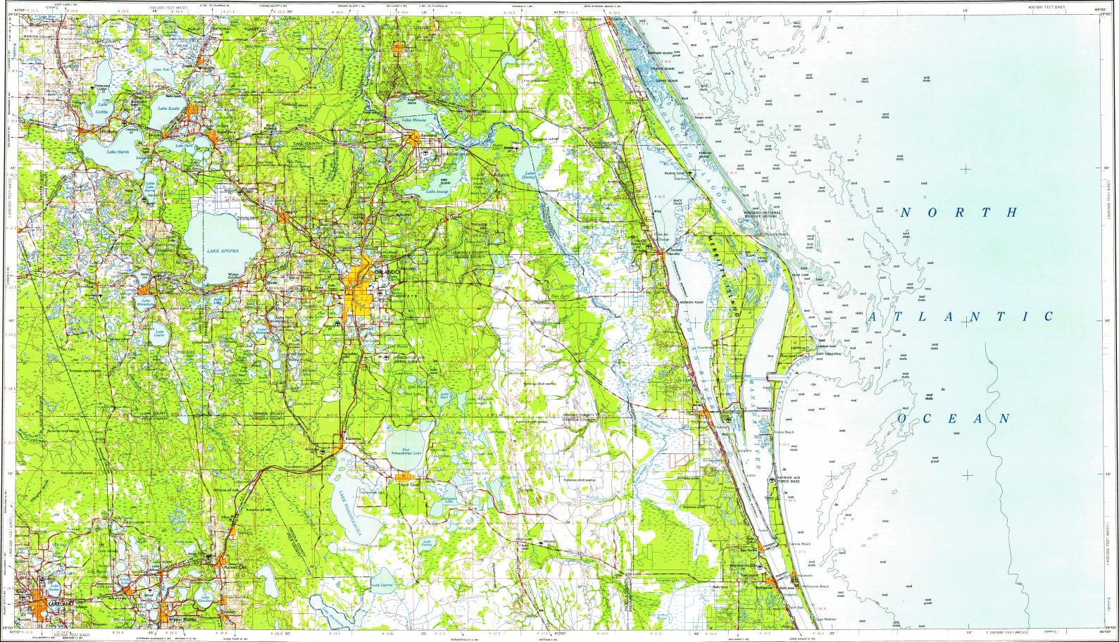 Leesburg Florida Map.City Of Leesburg Fl Map