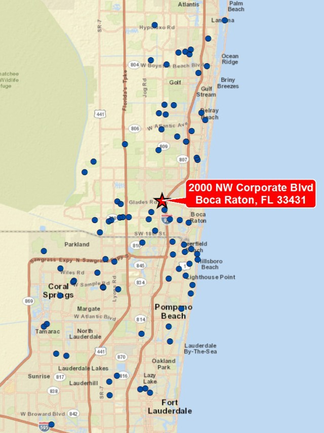 Most Popular CRE Maps
