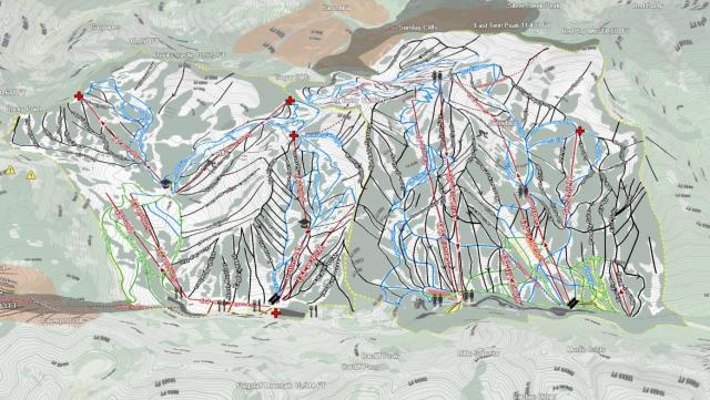 3D Ski Maps