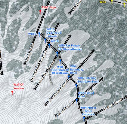 Ski Patrol. Skimaps For Official Resort Use