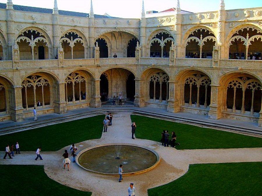 monastery lisbon cloisters