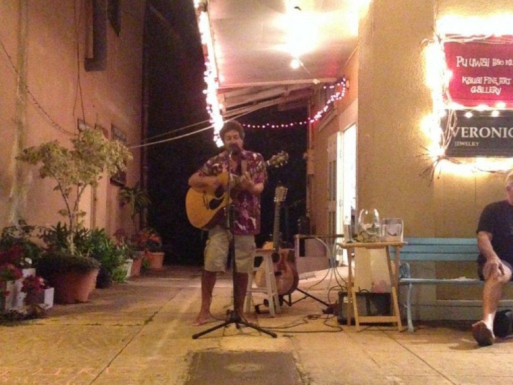 Soulful at the Hanapepe Friday Night Festival
