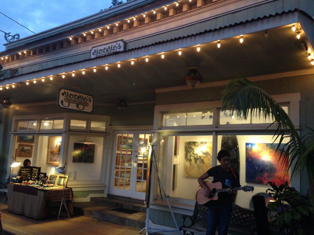 The beautiful Hanapepe town on Kauai