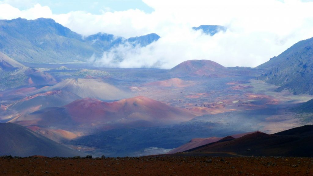 Haleakala, the East Maui Volcano