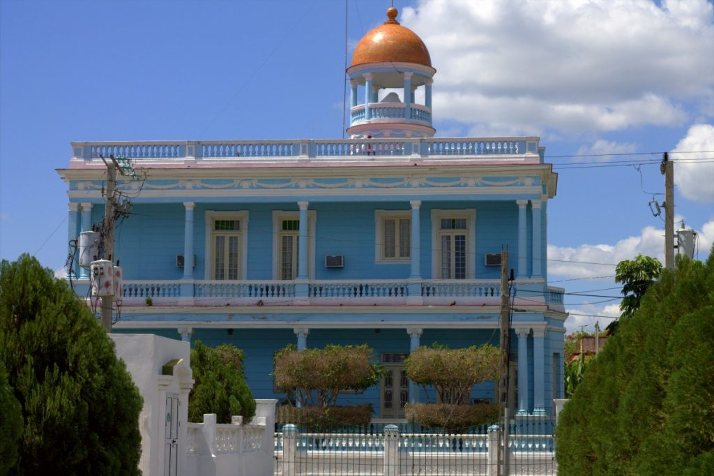 Punta Gorda - Cienfuegos, Cuba - Palacio Azul