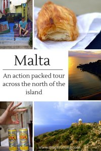 Malta Day 1 - An action packed tour across the north of the island