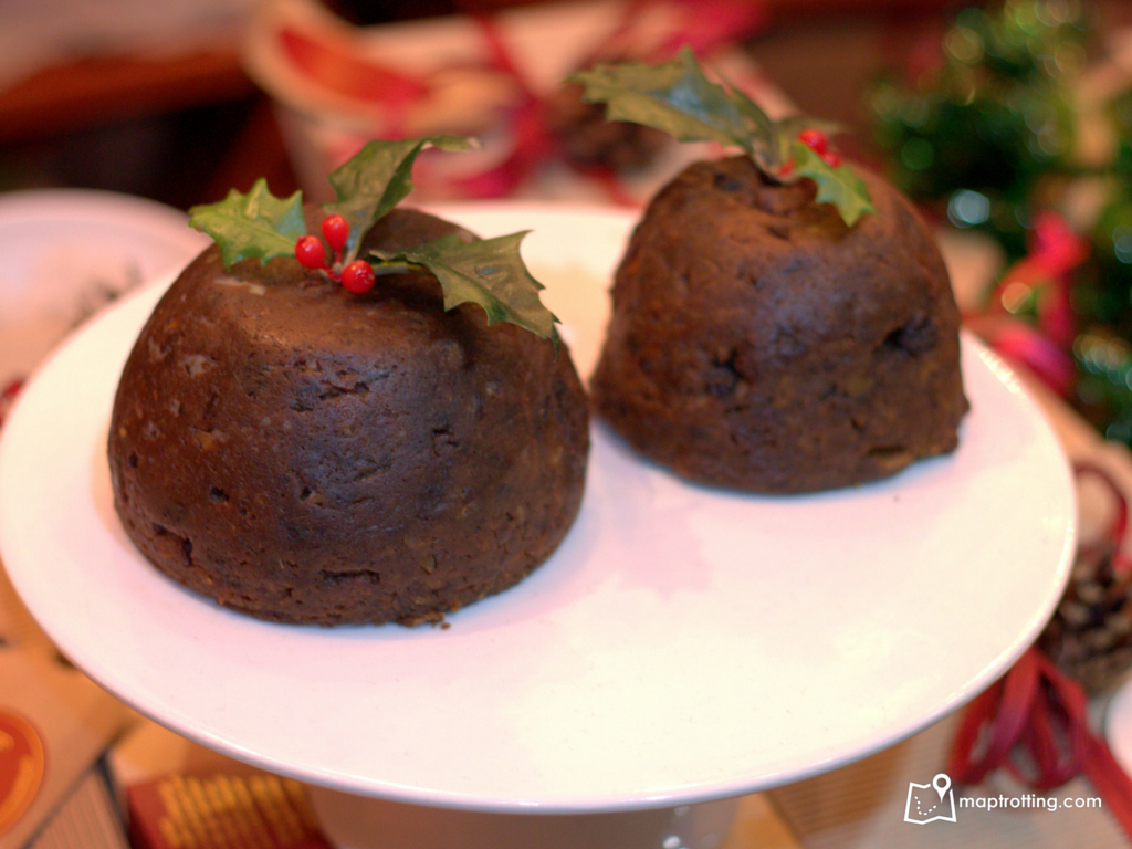 Christmas pudding_Borough Market_London