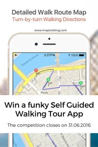 Win a funky Self Guided Walking Tour App worth $4.99