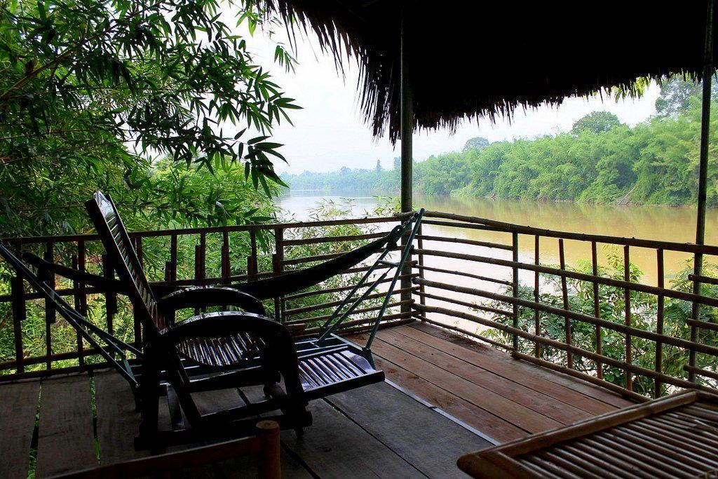 Cat Tien Nationa Park - terrace