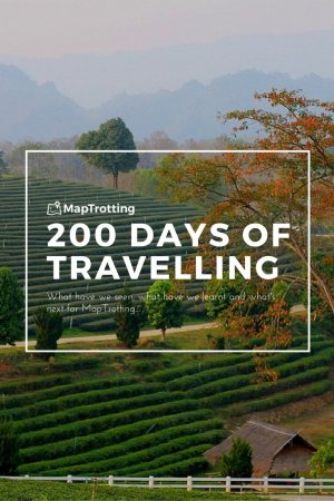 200 days of travelling and a round up