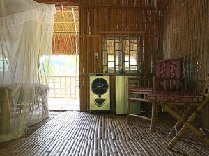 Bamboo Shack in Cat Tien National Park, Vietnam