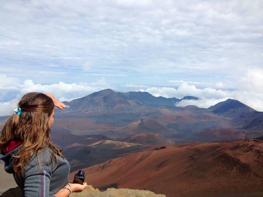 haleakala volcano, hawaii