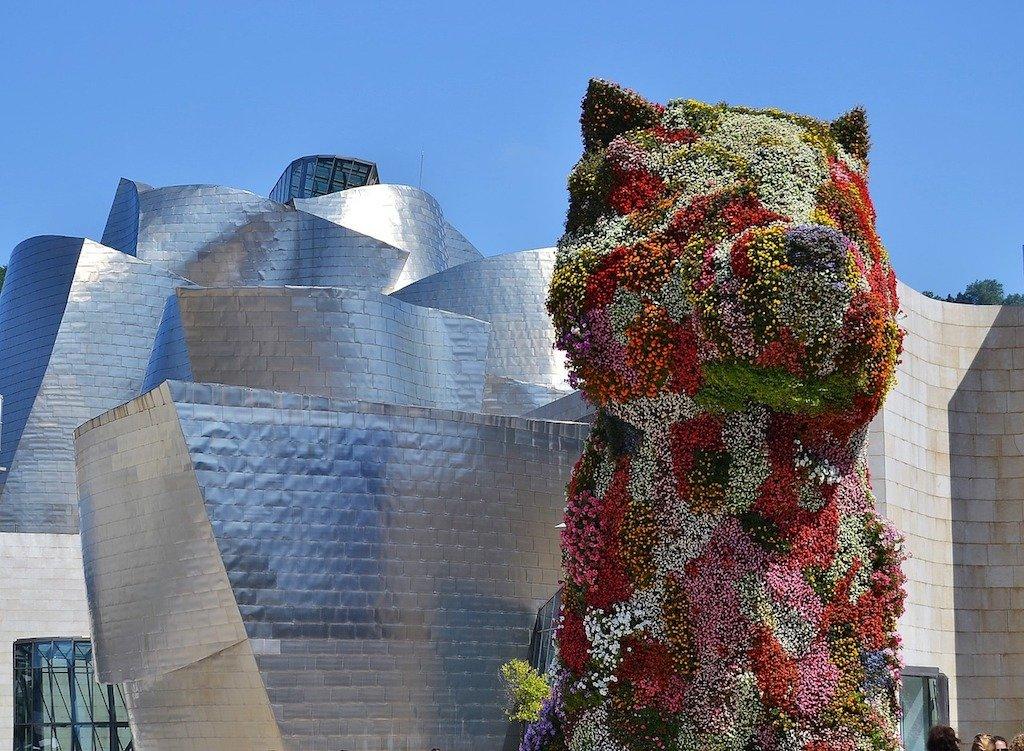 Top Things to do in Bilbao - Bilbao Guggenheim Flower Puppy