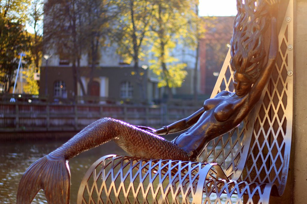 little mermaid klaipeda