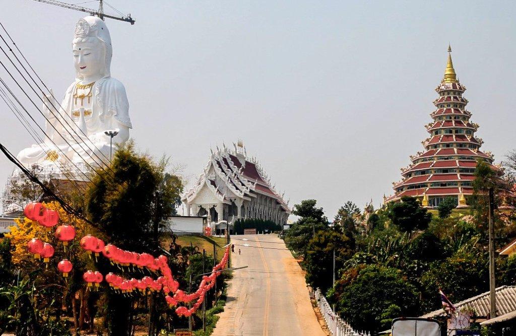 9 tier temple, chiang rai
