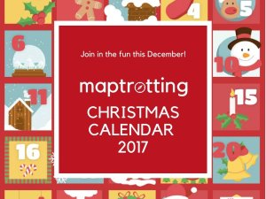 MapTroting Christmas calendar