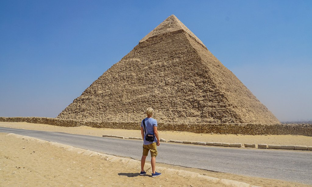 Where to travel in 2018 - the pyramids of giza