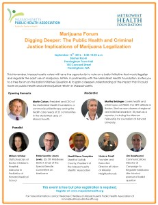 MPHA and MetroWest Health Foundation Marijuana Forum_ Sept 16