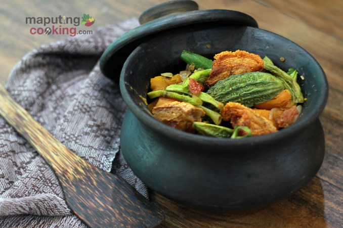 Traditional Filipino Vegetable Recipe (Pinakbet an Ilocano