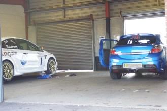 Pit Garage @ Snetterton