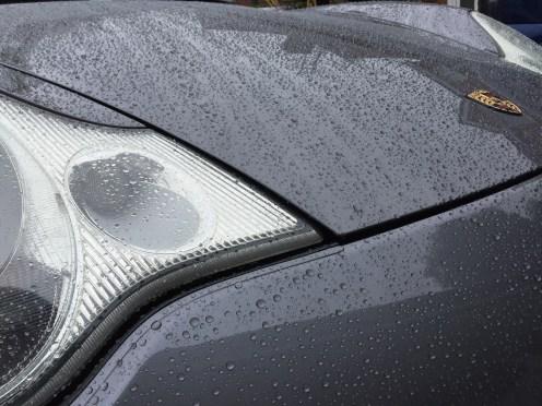 Water Beading On Porsche 911