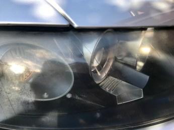A4 Headlight Damage