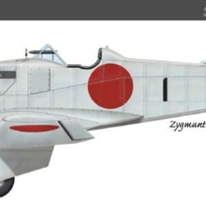 Maquetas hechas - kawasaki-ki-5 Vista lateral