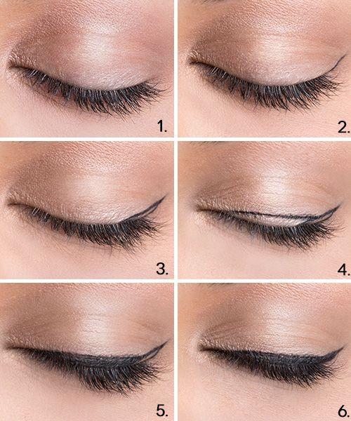 maquillaje de ojos natural con un