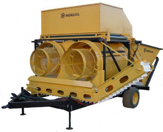 LImpiadora de aceitunas Moresil Ml-8000. Imagen: Moresil.