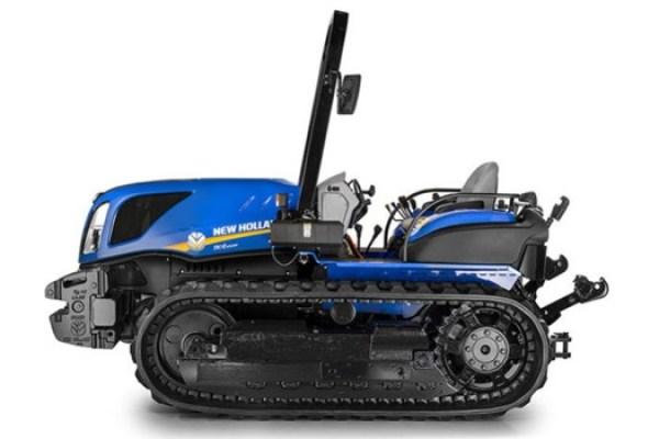 Tractor de cadenas New Holland Tk4.110m. Imagen: New Holland.