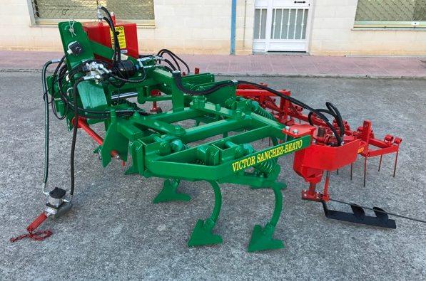 Cultivadores Sanchez Beato Ext-90. Imagen: Sanchez Beato.