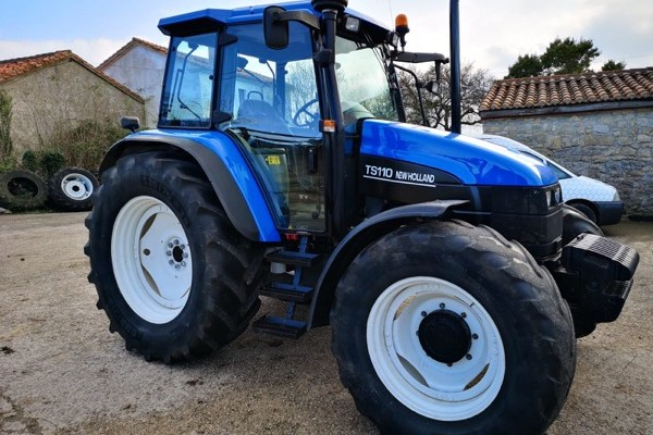 New Holland,Ts 110 (4wd),Ourense,2.800,00 EUR