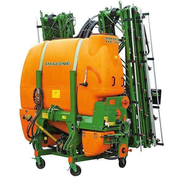 Pulverizador hidráulico Amazone Uf-1501. Imagen: Amazone.