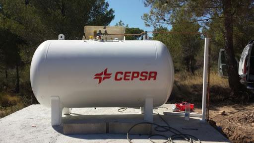 Depósito para Gas de Cepsa. Imagen: Google Imágenes.