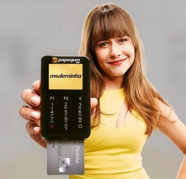 Máquina de Cartão do PagSeguro