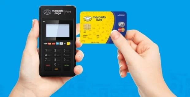 Máquina de Cartão de Crédito Mercado Pago Point