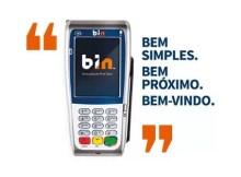 máquina de cartão BIN