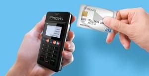 máquina de cartão de crédito Moviu